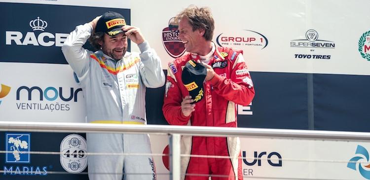 Doble podio en la categoria AM
