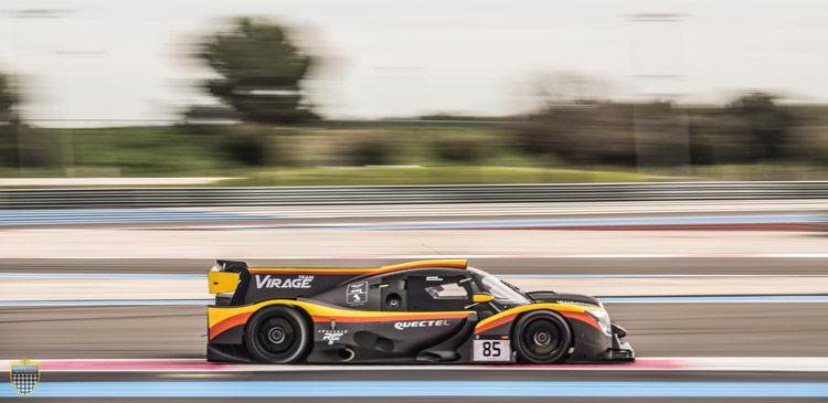 Virage on top at Paul Ricard Test