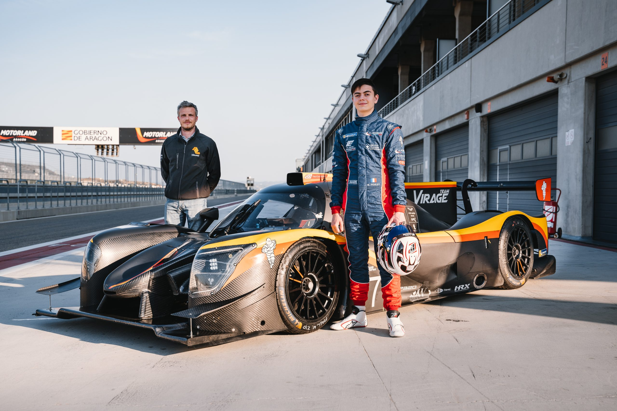 Team Virage signs Mathis Poulet for the 2021 Ultimate Cup Series