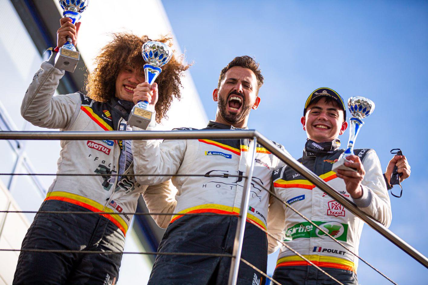 Team Virage logra su segunda victoria del año en Dijon en Ultimate Cup Series