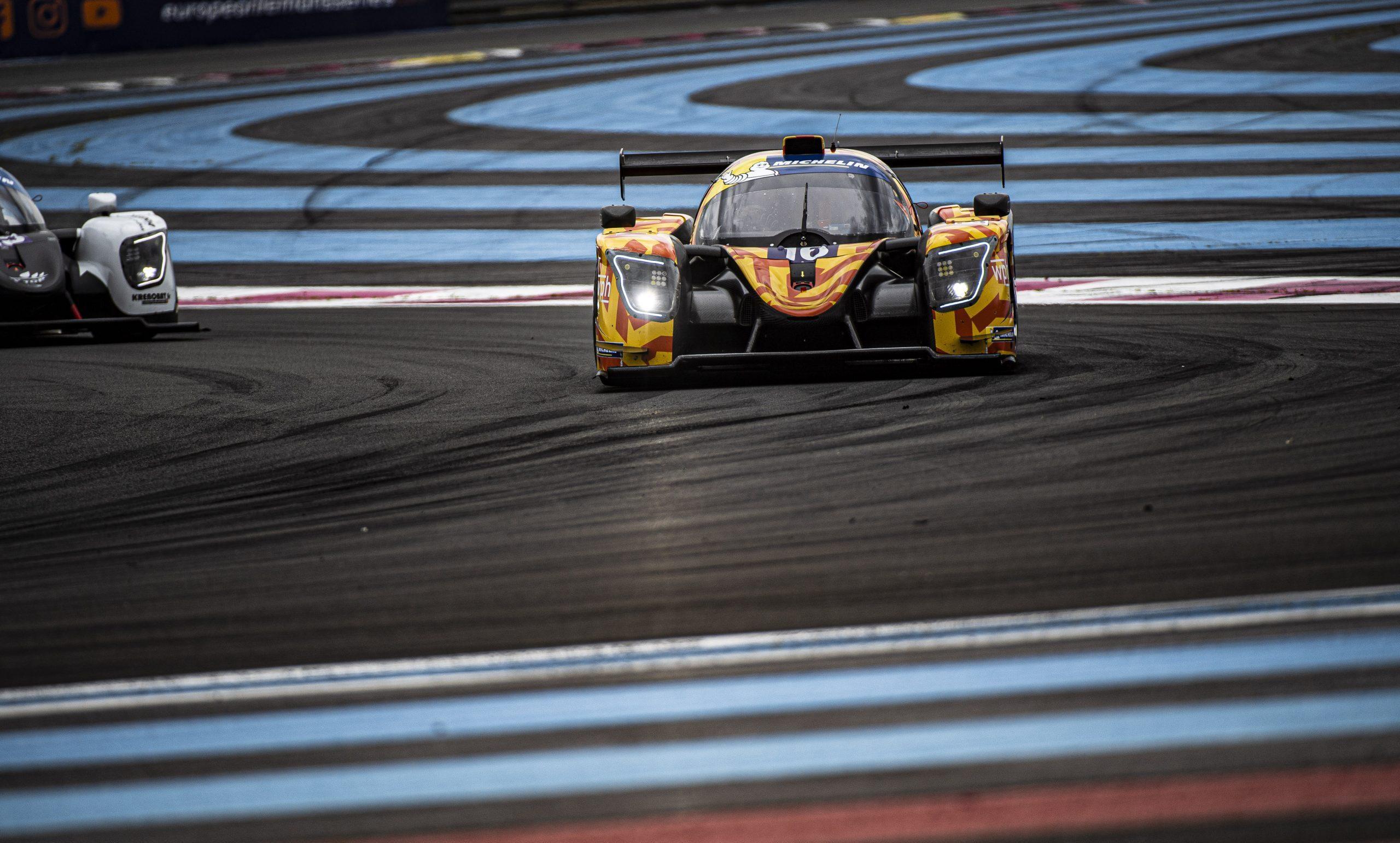 Challenging Le Mans Cup race for Team Virage in Le Castellet